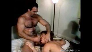 Hairy Gay Vintage fuck!