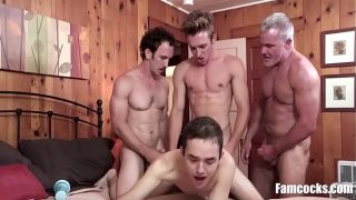 Teaching Teen Son A Lesson – Gay Gangbang